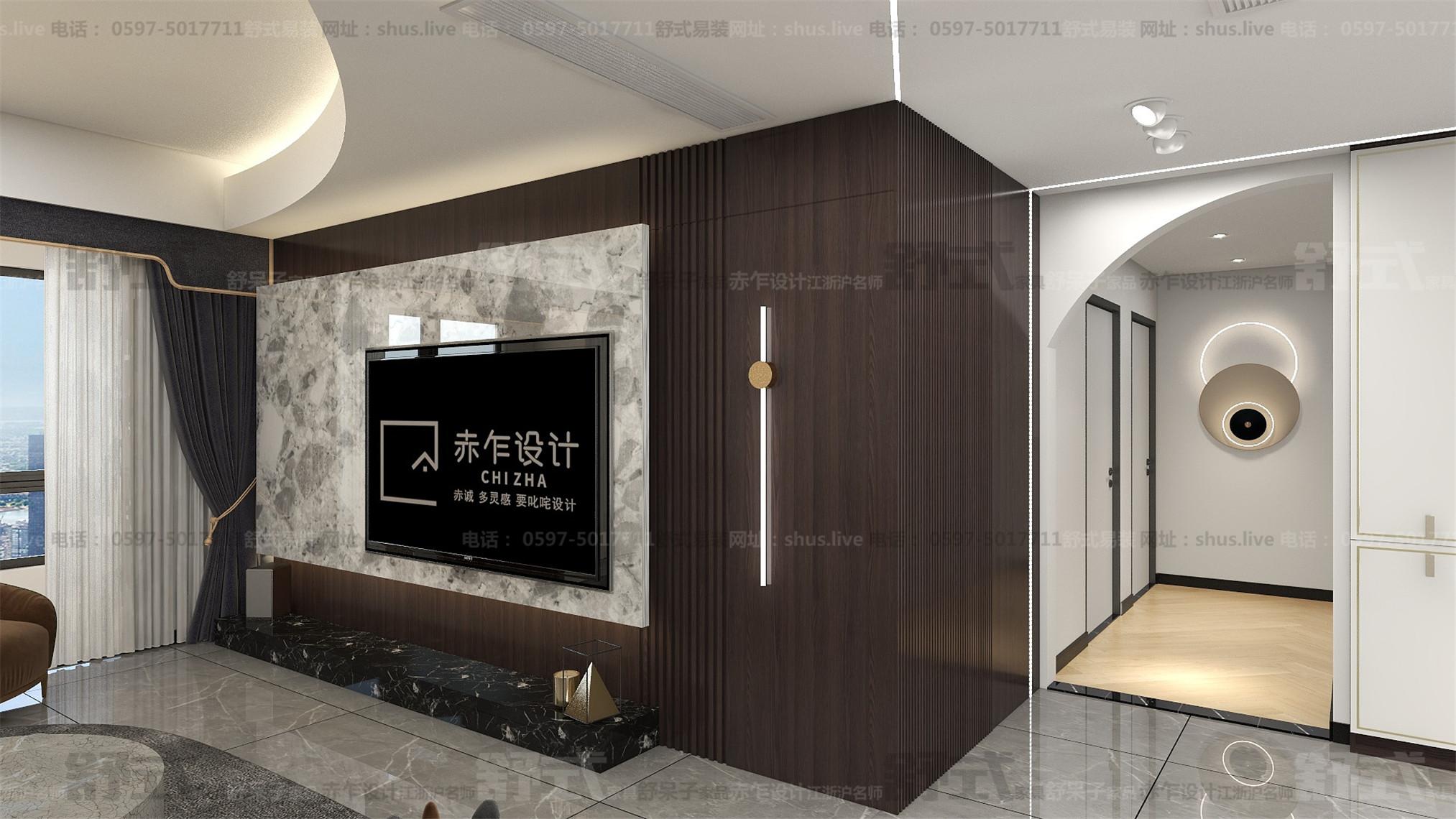 中式轻奢-全屋整装-舒式易装-理想城6栋04户型